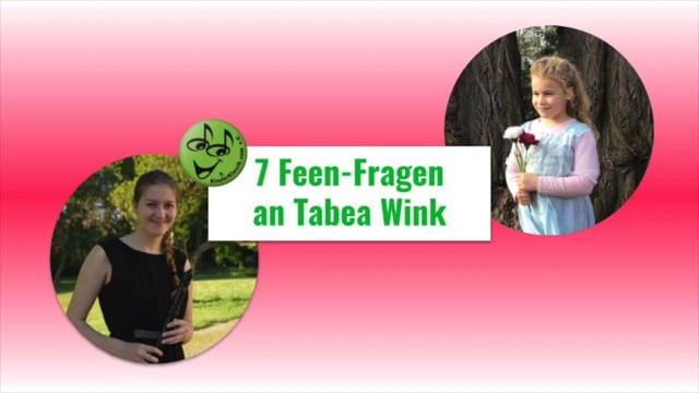 7 Feen-Fragen an Tabea Wink