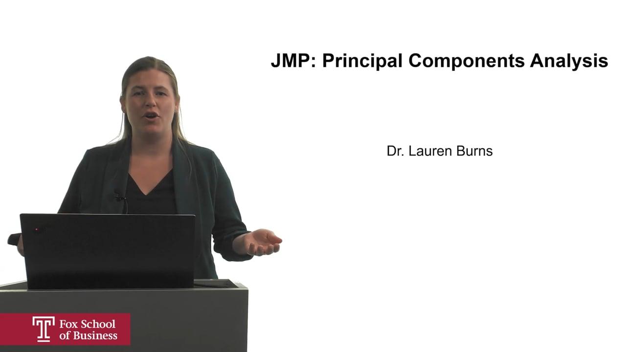 62065JMP: Principal Components Analysis