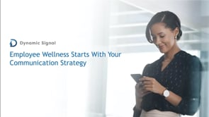 Employee Wellness Starts With Your Communication Strategy