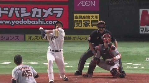 【3回裏】逆方向へ!! ホークス・柳田の追加点となる2ランホームラン!! 2021/5/28 H-G