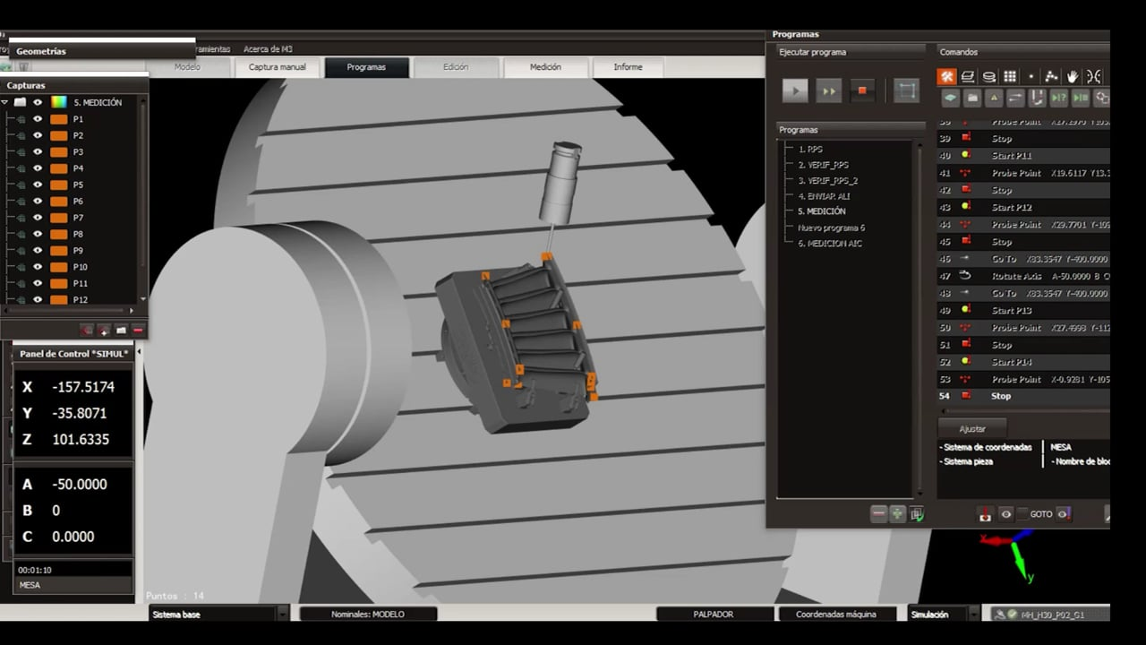 M3MH: Measurement Software for Machine Tools