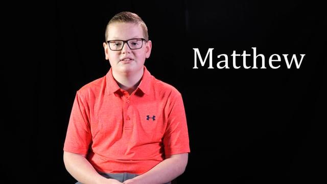 Cattlemens Ball Survivor Story - MATTHEW