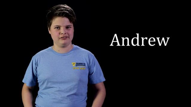 Cattlemens Ball Survivor Story - ANDREW