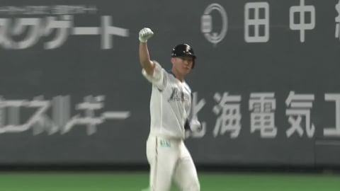 【3回裏】ファイターズ・高濱 逆転の2点タイムリーヒットを放つ!! 2021/5/29 F-D