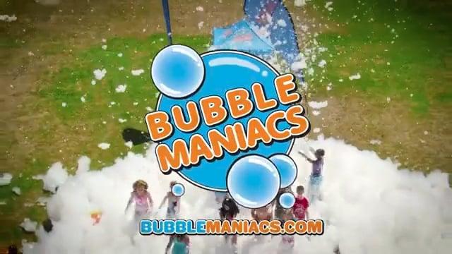 BubbleManiacs - Kids Foam Parties that are a BLAST