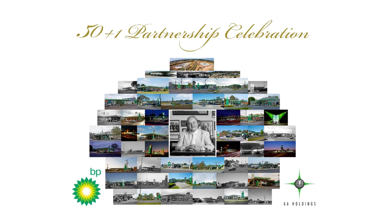 AA + BP 50 Years Partnership