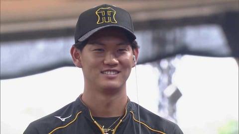 タイガース・及川投手ヒーローインタビュー 5/30 L-T