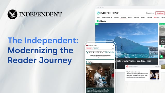 The Independent: Modernizing the Reader Journey thumbnail