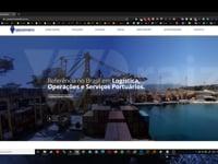 ServePorto (Pará - Brasil) PSD to Elementor Pro