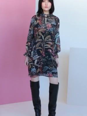 Vídeo: VELMA DRESS SINHARAJA PRINT