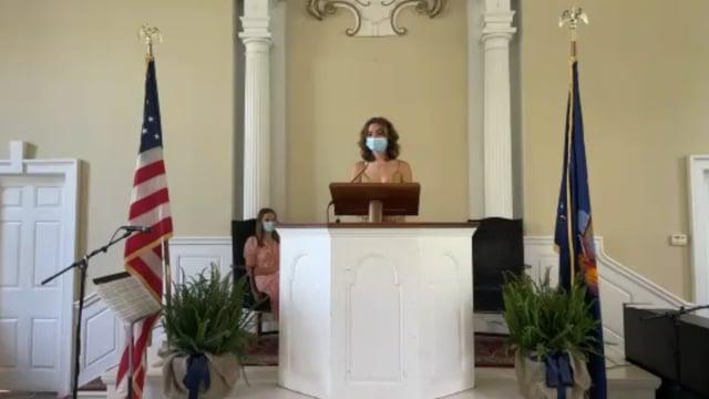 Millbrook School Chapel Talk - Merilee Weil