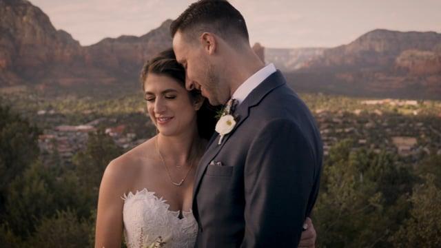 Laura + Patrick Wedding Highlights - Sedona AZ_050921