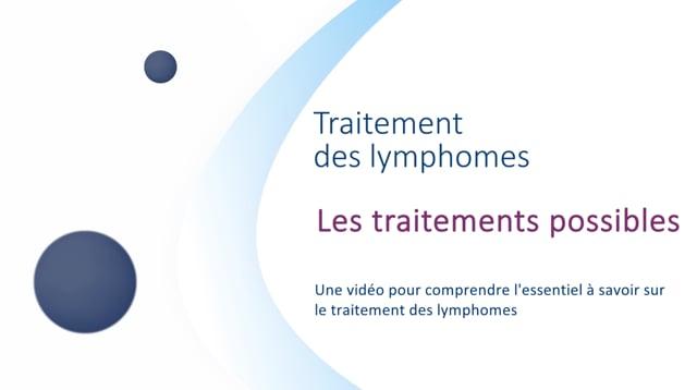 Miniature de la vidéo Les traitements possibles