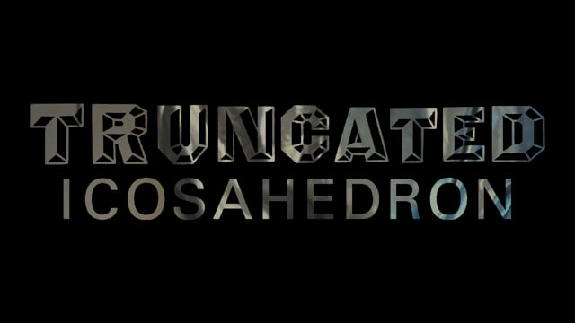 Truncated Icosahedron - Trailer for SOFT gallery, Oslo 2021