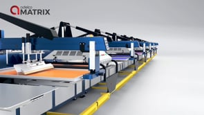 Adelco MATRIX screen printing press