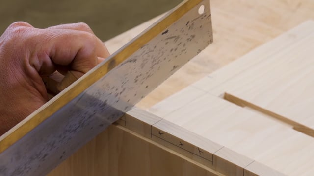 34-How to Cut a Housed Stub Tenon Joint