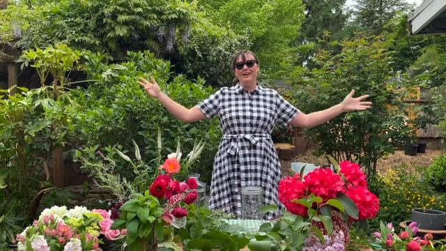 Summer Soiree Floral Demo