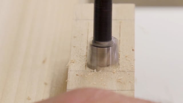 18-How to Make Mortises with the Aid of a Drill Press