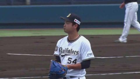【ファーム】バファローズ・黒木  約2か月ぶりの公式戦登板で見事な投球を見せる!! 2021/6/5 B-H(ファーム)