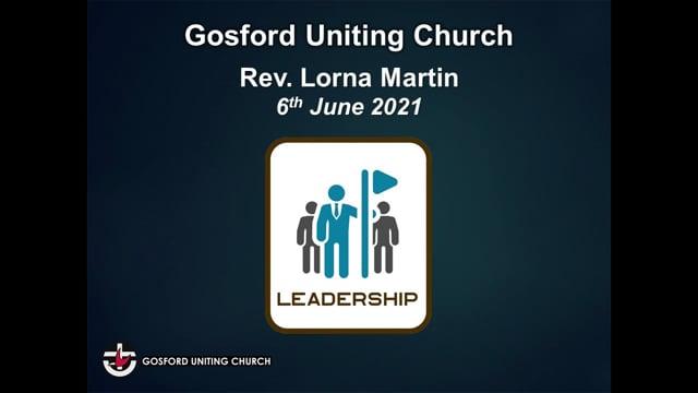 6th June 2021 - Rev Lorna Martin