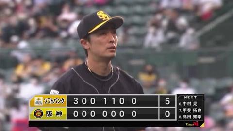 【7回裏】ホークス・和田 貫禄の投球で7回無失点!! 2021/6/6 T-H