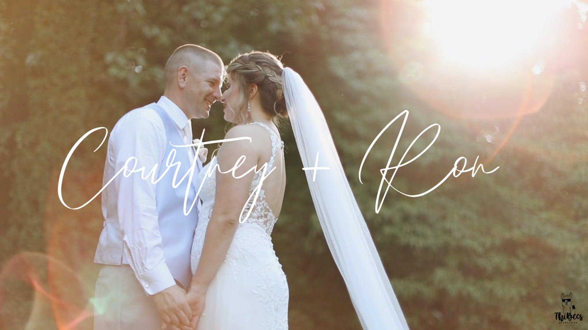 Courtney & Ron  | Wedding Video | Lenexa,VA