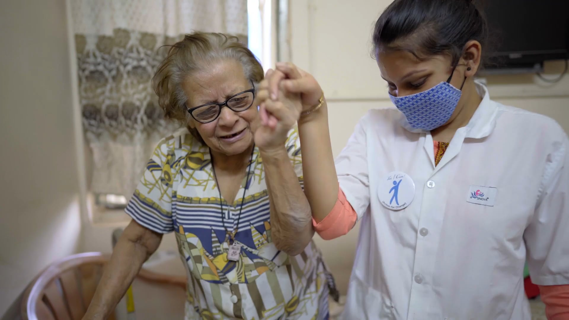 Geriatric Caregiving - Short Documentary - Yes I Can Foundation