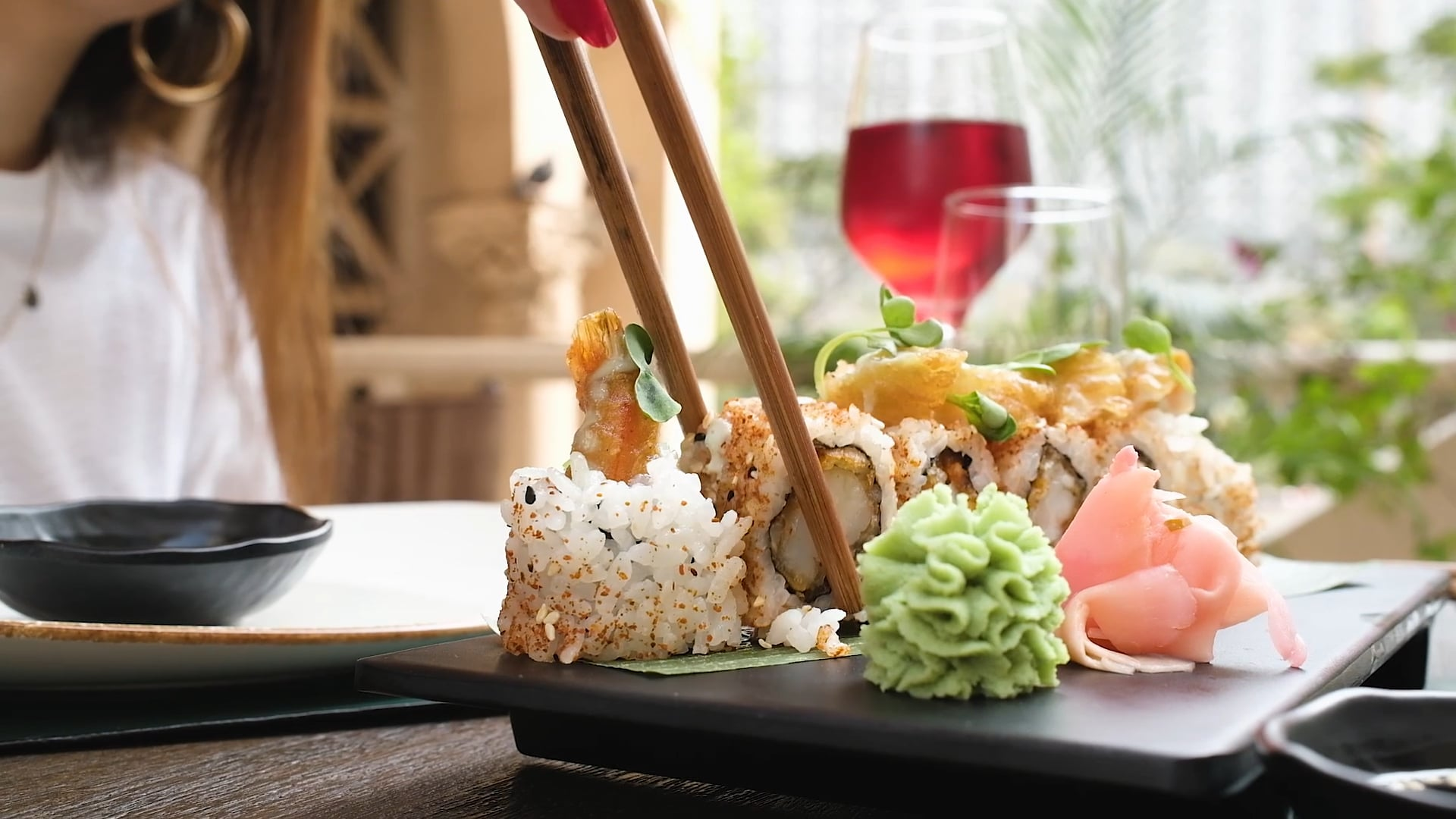 In The Kitchen - Sesami Restaurant