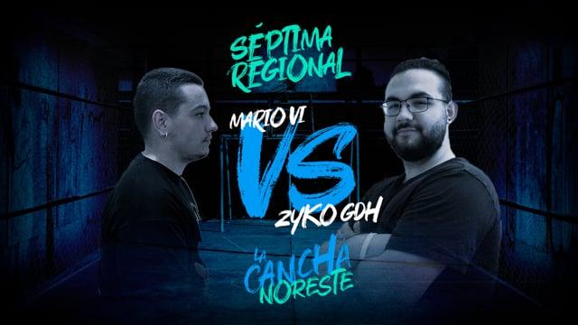 La Cancha Noreste | Cuartos | Mario VI vs Zyko GDH