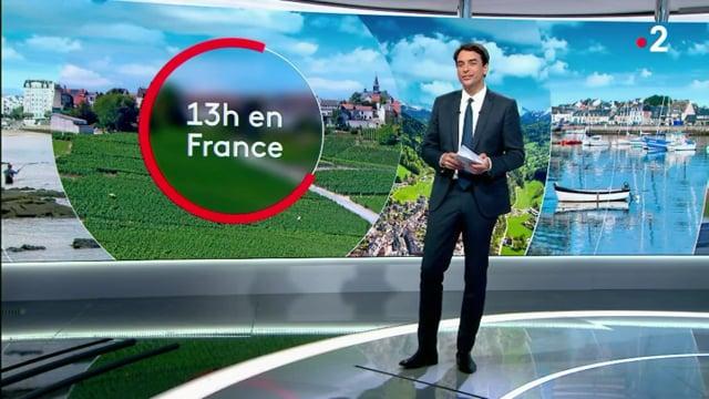 Un jardin qui remonte le temps - reportage de France 2