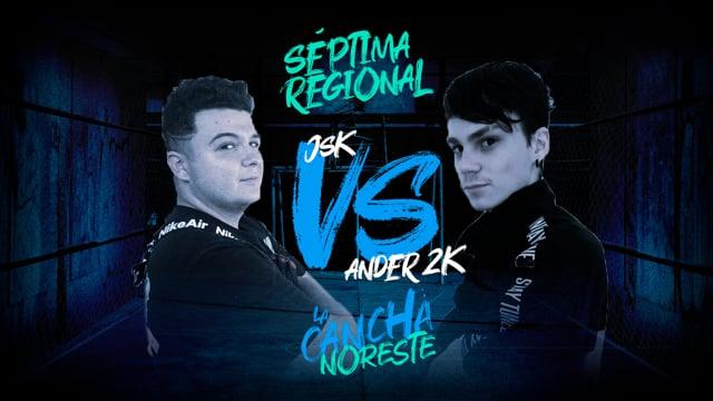 La Cancha Noreste | Cuartos | JSK vs Ander2k