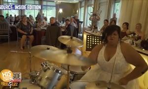 Little drummer bride