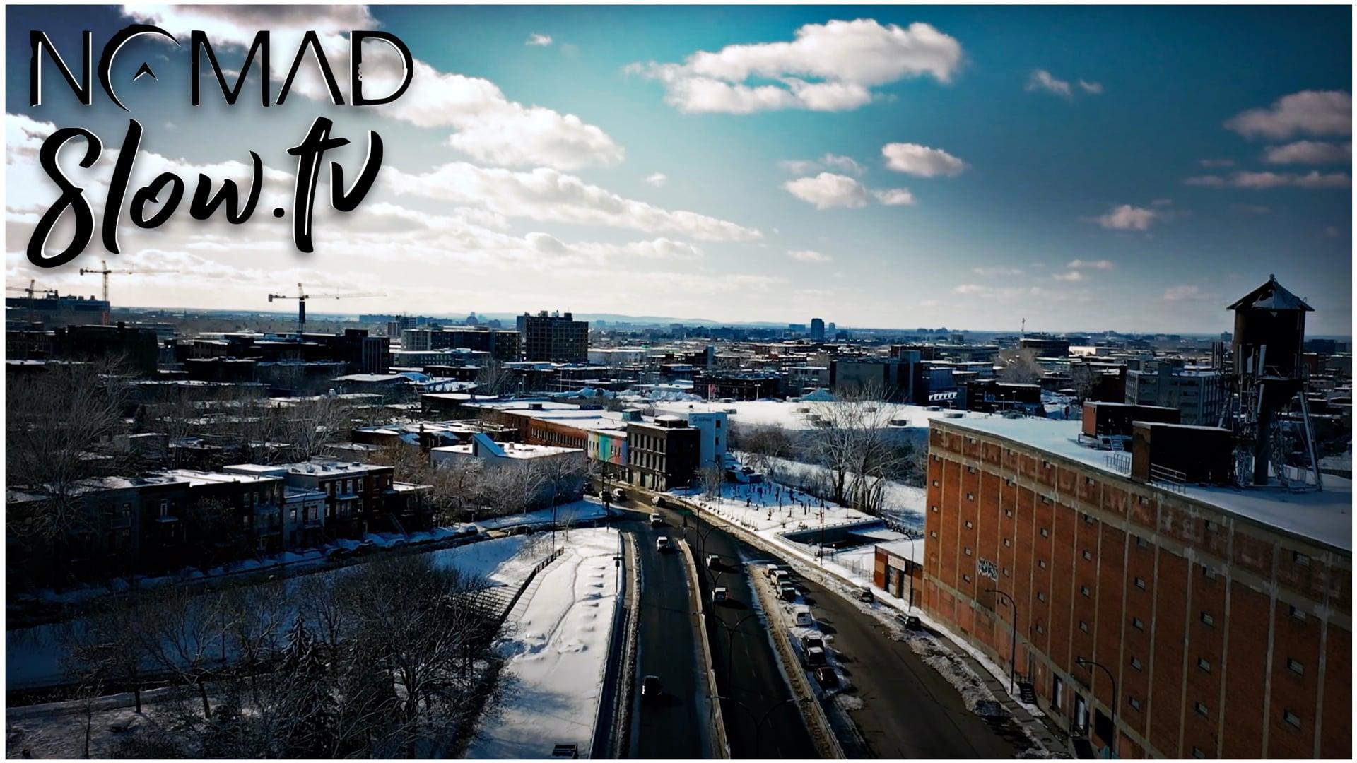 NOMAD Nation - Slow Winter - drone shot