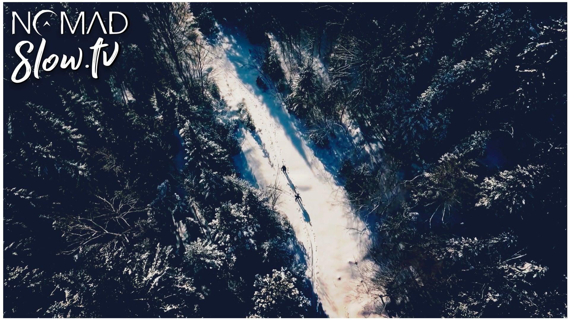 Heli Drone Images - Ski de Fond