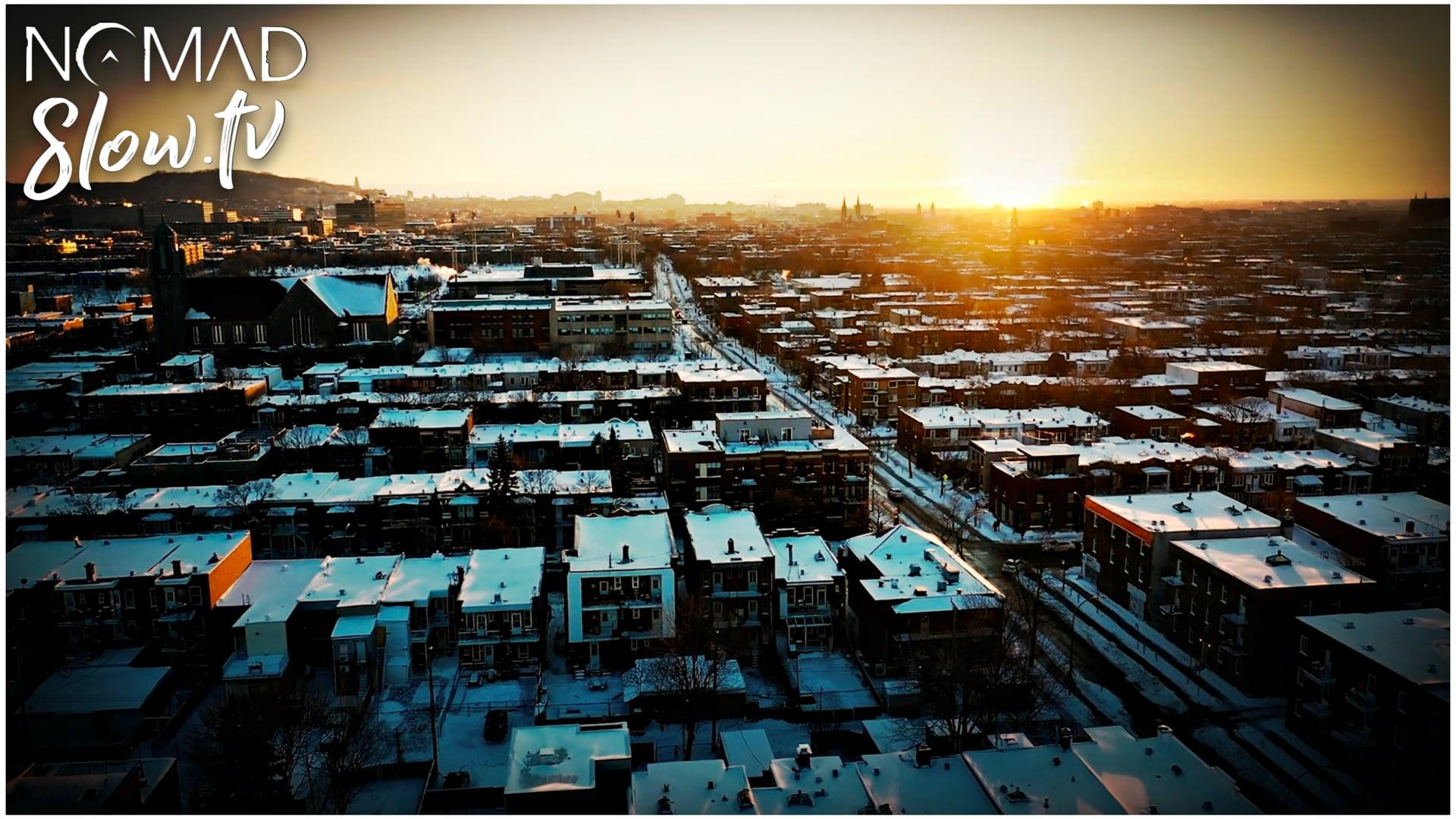 Montreal Winter Down Drone  Quiet Nights - Nate Blaze