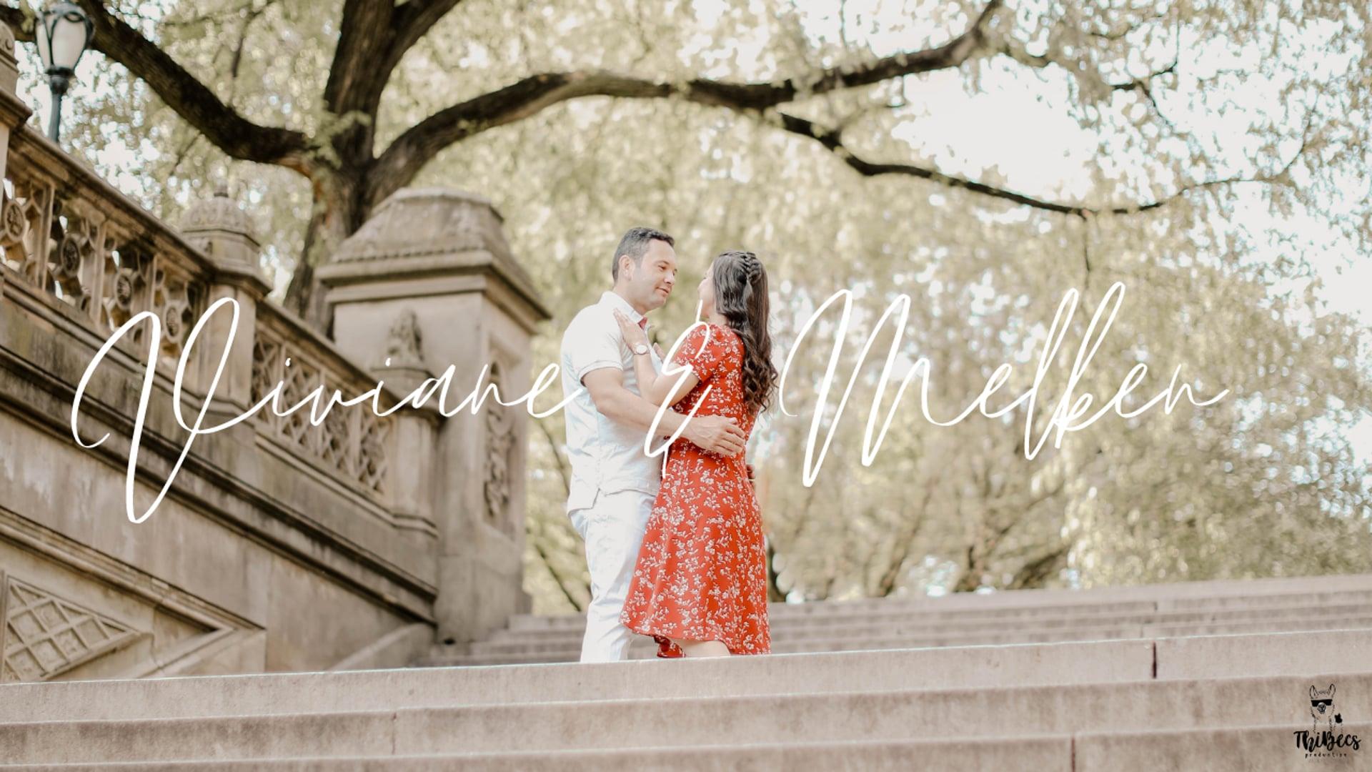 Viviane & Melken   Save the Date   New York City