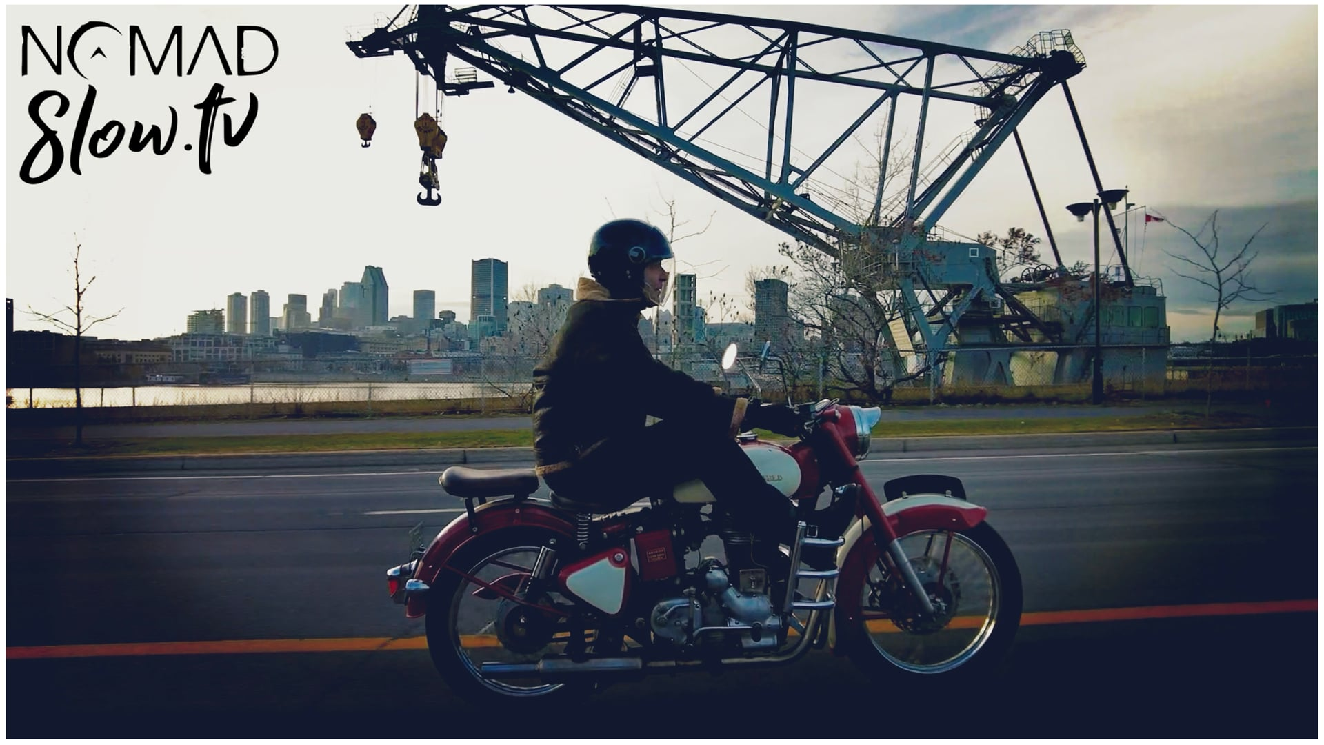 Glen LeMesurier - Royal Enfield 1967 Bullet 500 - ride 2
