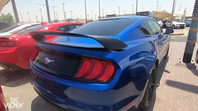 FORD MUSTANG - BLUE - 201...