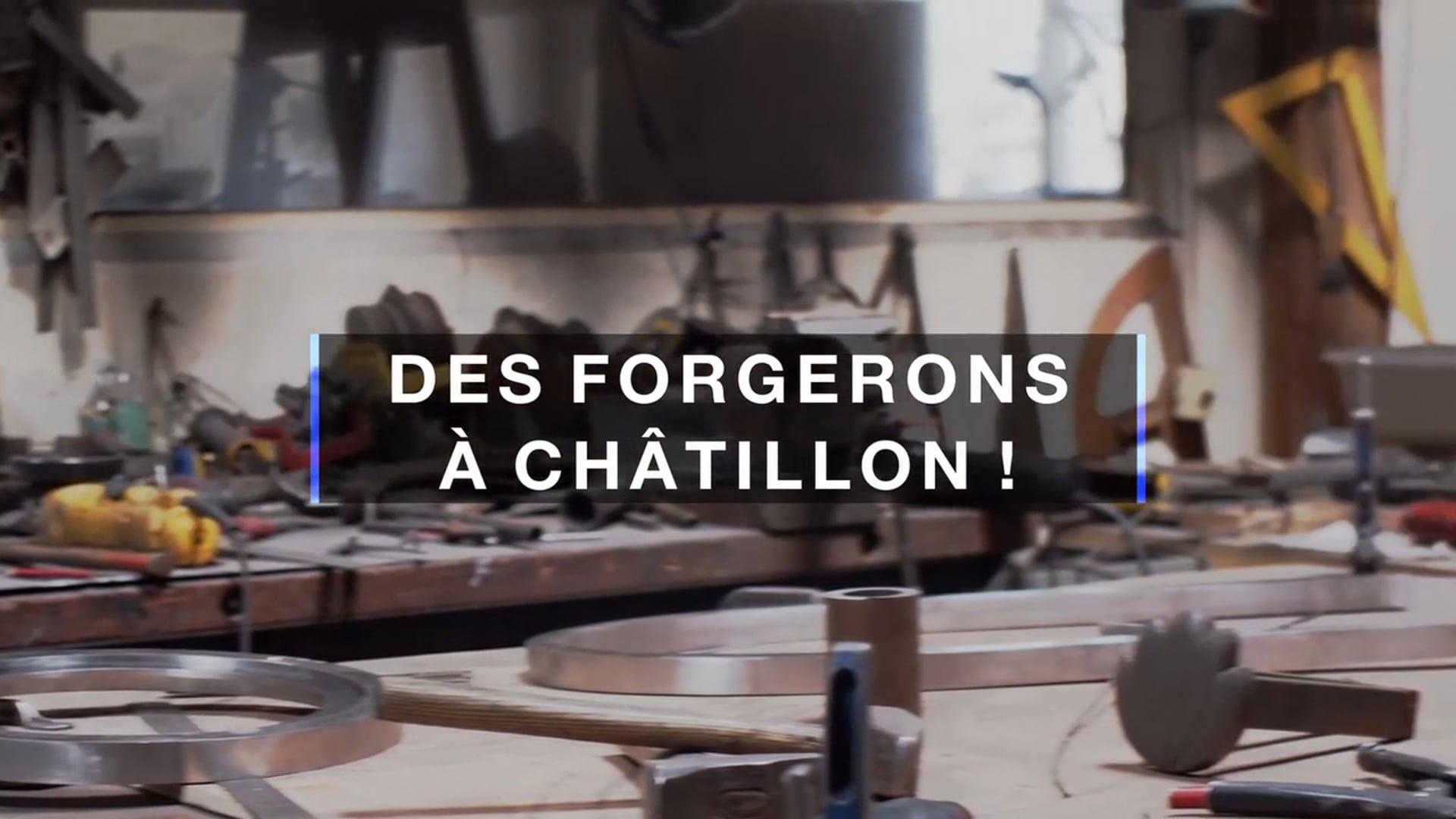 Des Forgerons à Châtillon-Coligny