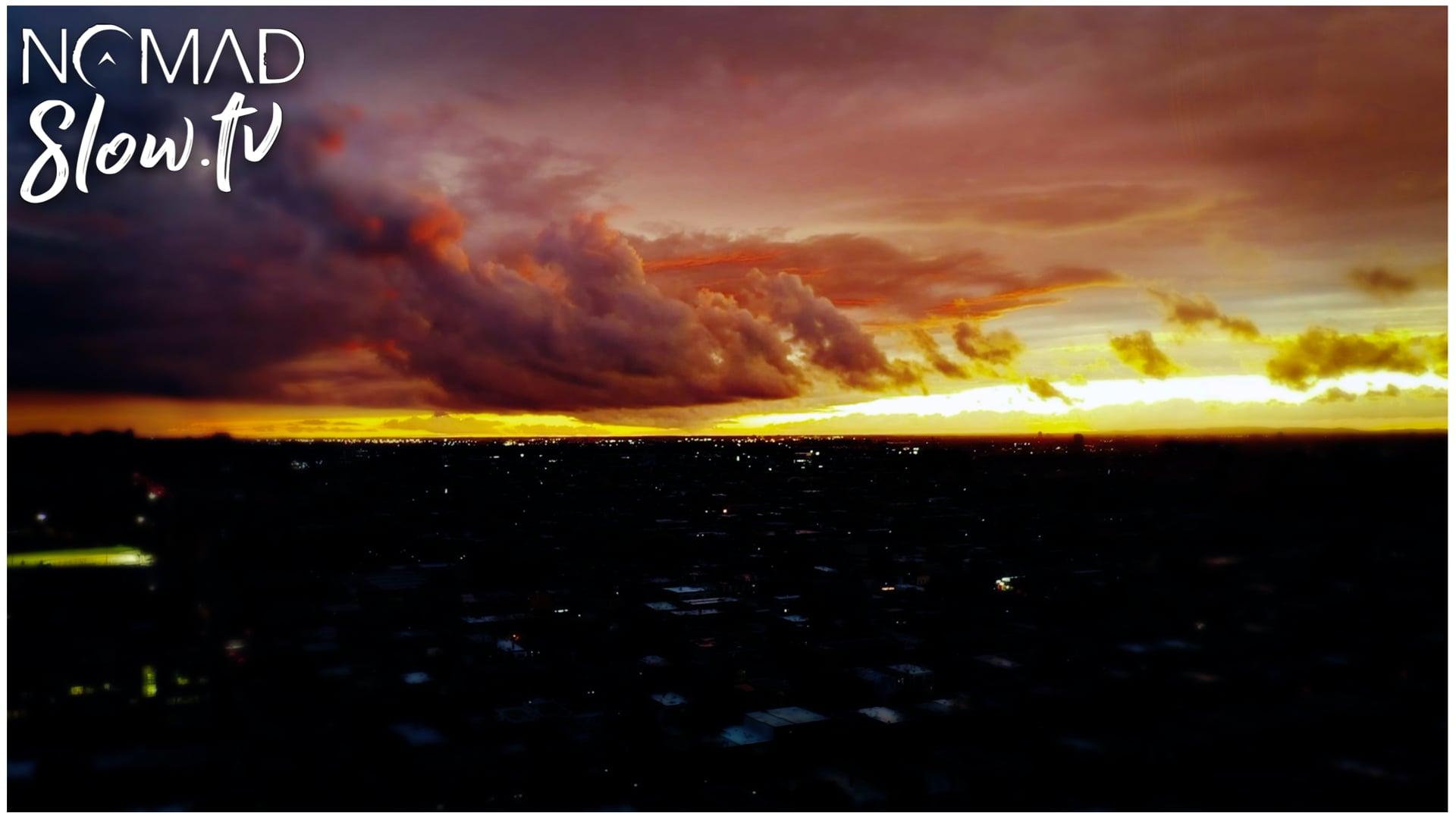 Last Summer Sunset  Fly Inverted Past a Jenny - Chris Zabriskie