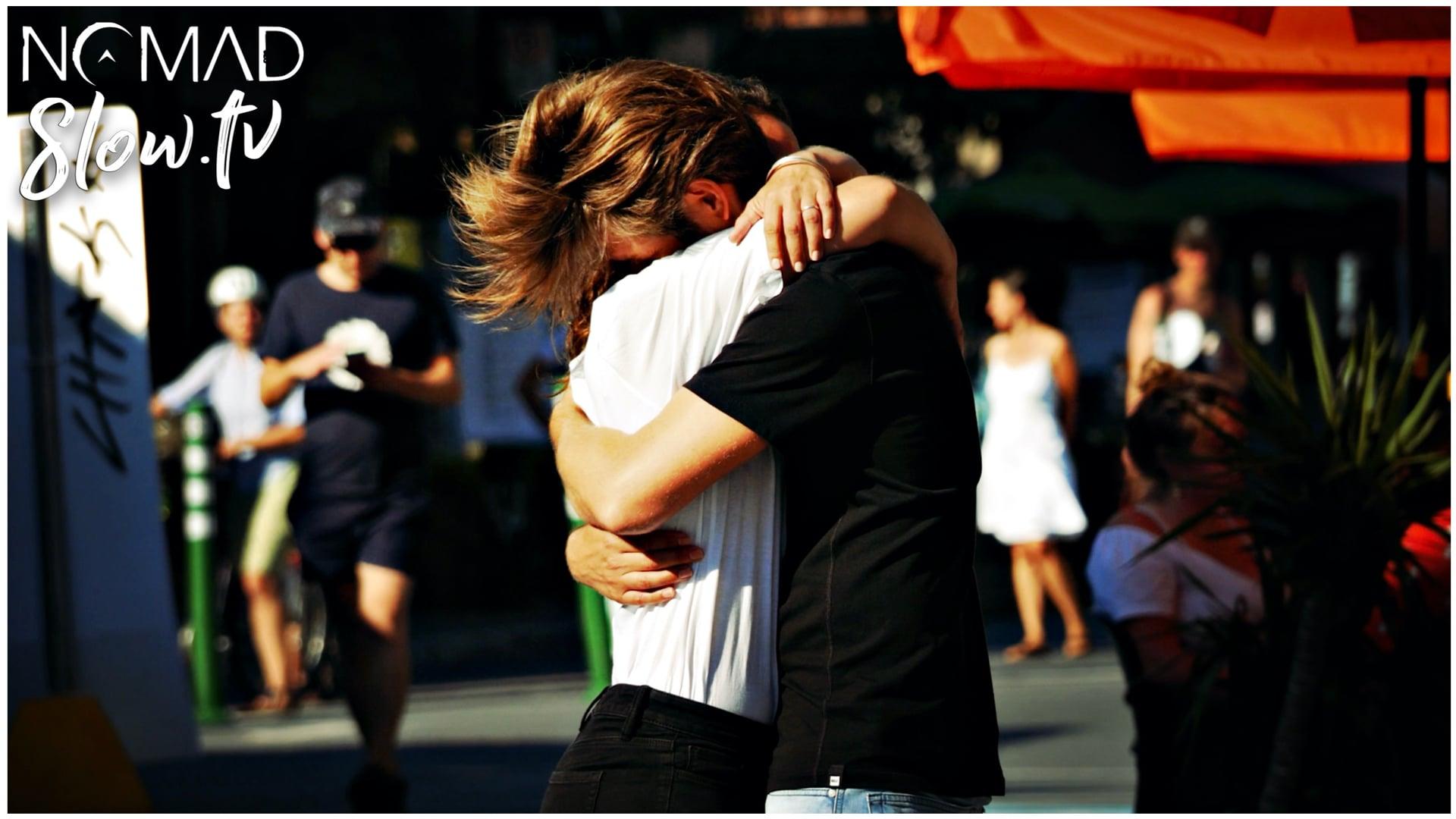 One Hour Hug on NOMADslow.tv
