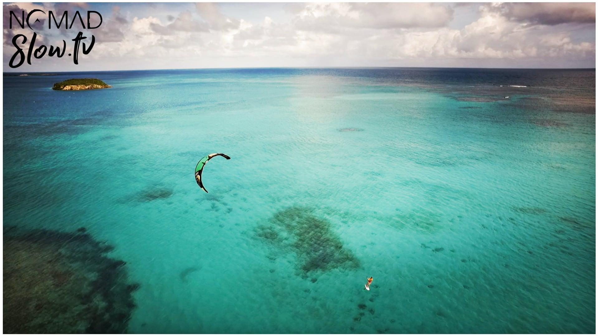 Kitesurf drone by Antoine Leger  Organ Mood - Corridor Appalachien & Entremise