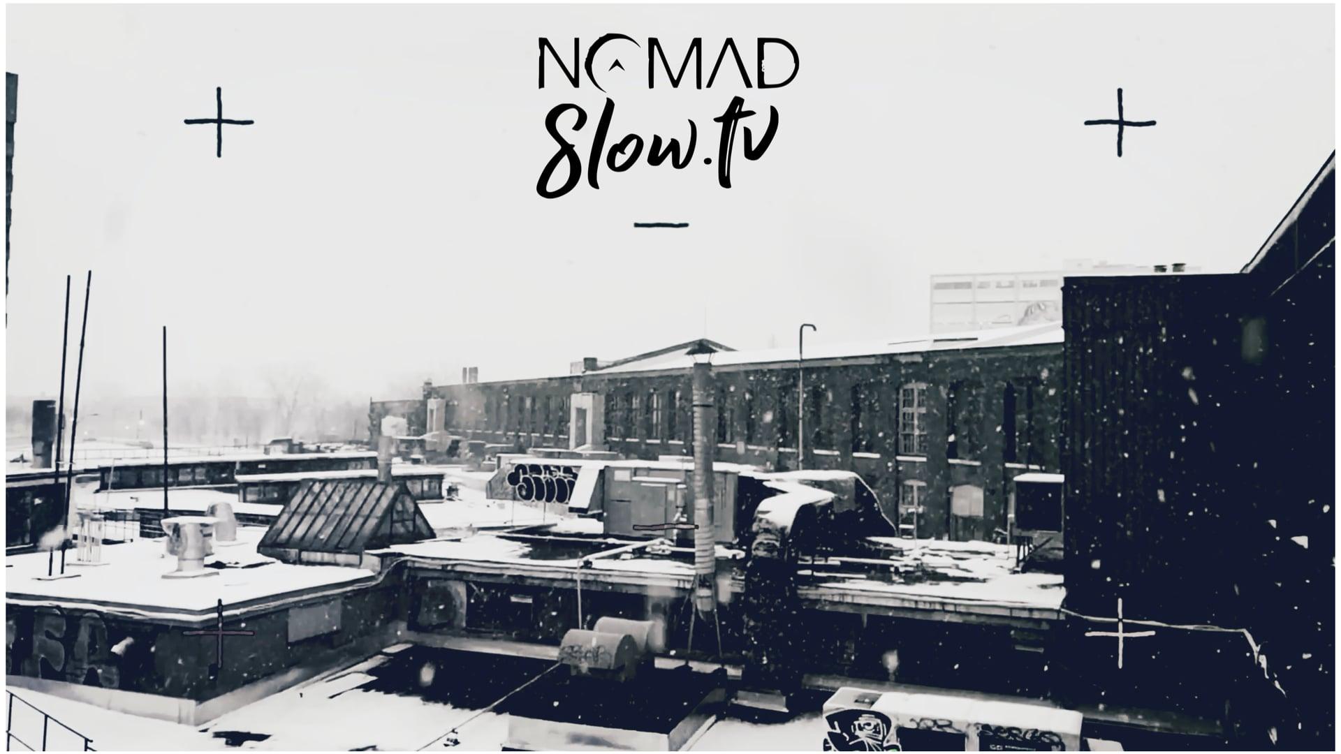 Winter Walk to NOMAD - slowTV