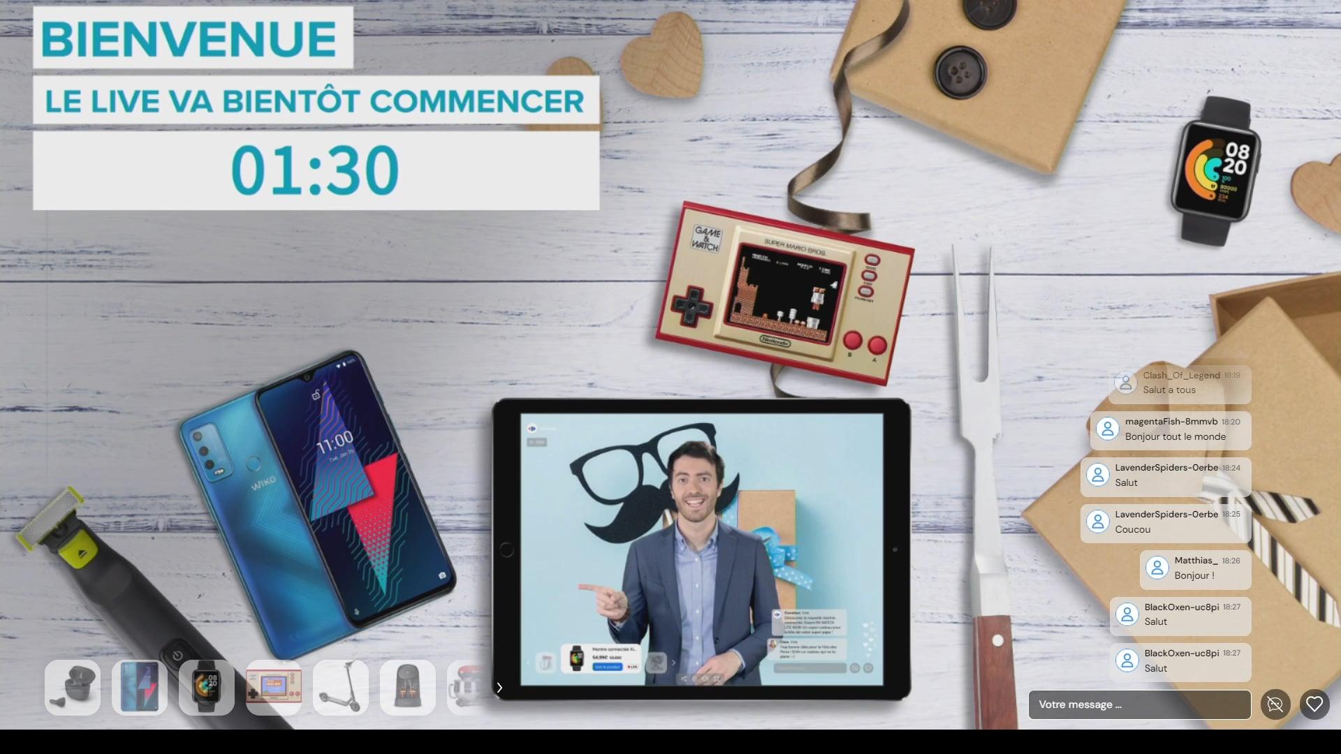 [Replay] - Le Live qui fête les Papas- Carrefour - 9 juin 2021