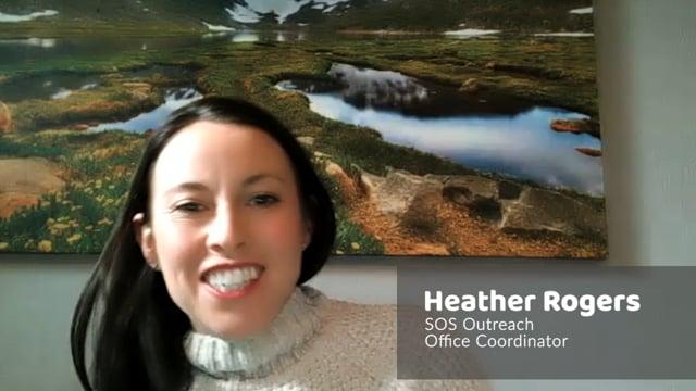 SOS Outreach – Heather Rogers