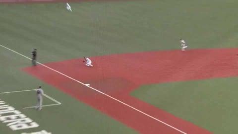 【4回表】鋭い打球を見事にキャッチ!! バファローズ・宗が好守で魅せる!! 2021/6/10 B-G