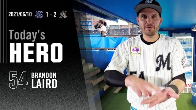 今日のヒーロー|レアード選手「たくさん寿司を握って勝ちたい」