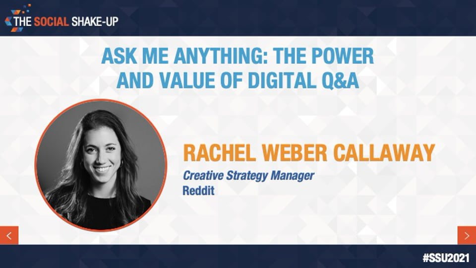 Ask Me Anything: The Power and Value of Digital Q&A