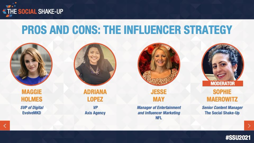 Pros and Cons: The Influencer Strategy