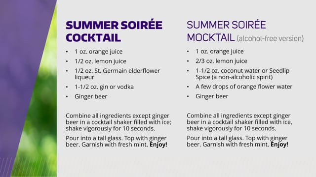 The Summer Soiree Cocktail